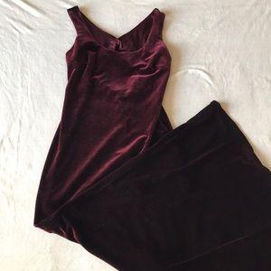 Velvet Maxi ball dress Made in USA